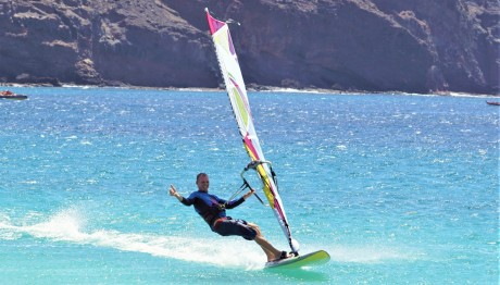 Windsurfing Kapverden Sao Vicente better than Sal and Boa Vista
